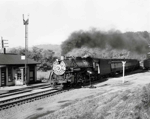 B&O in North Bend Ohio Sept 1954