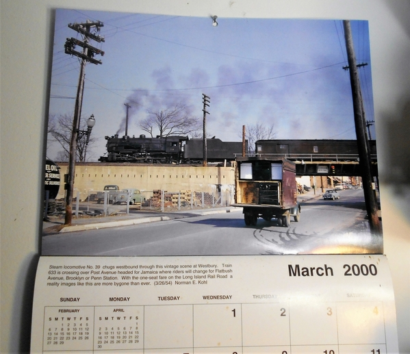 MELGAR_LIRR_MARCH_2000_CALENDAR_POST_AVE