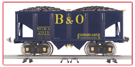 Standard Gauge Module Association 2019 Coal Hopper