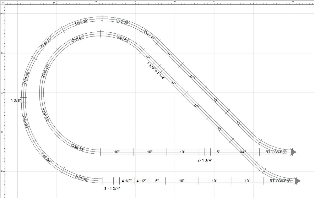 can this be layout be done in fastrack
