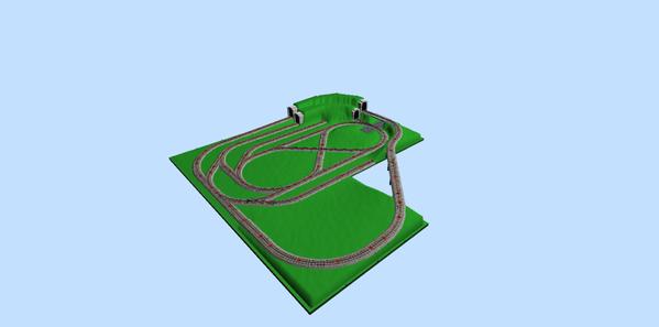 Option 6D_Grades_42_Tunnels_3D