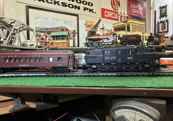 Lionel S1 and Lionel 156 4