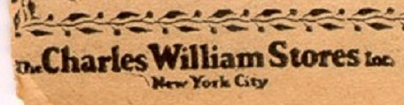 the Chas Williams Store - NYC