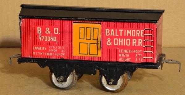 Flyer B&O boxcar 01b