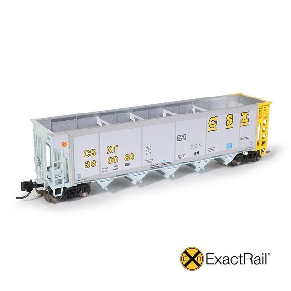 ExactRail N SCALE JOHNSTOWN AMERICA AUTOFLOOD II HOPPER - CSX