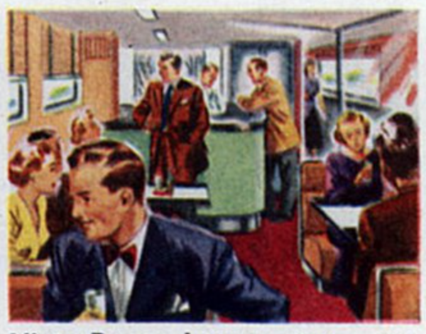 Cocktail lounge pre 1960