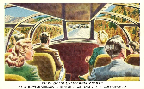 California Zephyr vista dome
