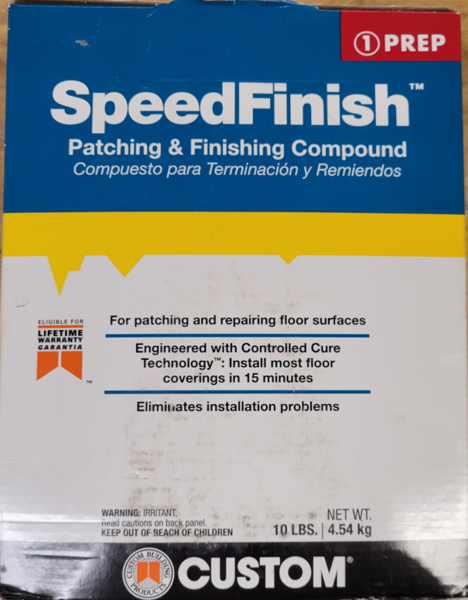 Speed Finish Patching Compound