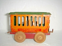 rhino circus car