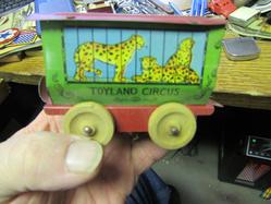 leopard circus car