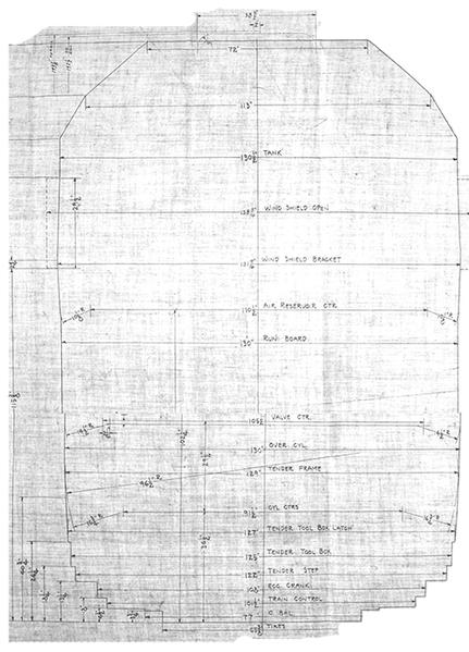 Clearance-Diagram Original Drawing