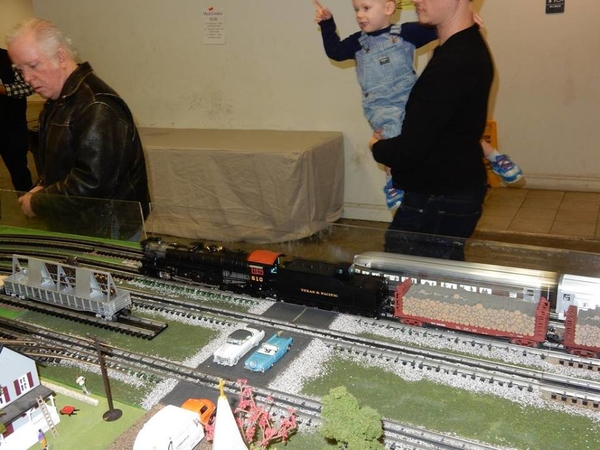 610 at Great Texas Train Show 2 in Lewisville 2019