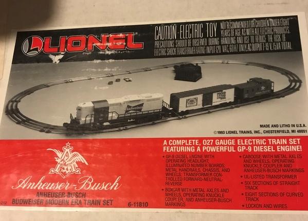 Budweiser set 6-11810