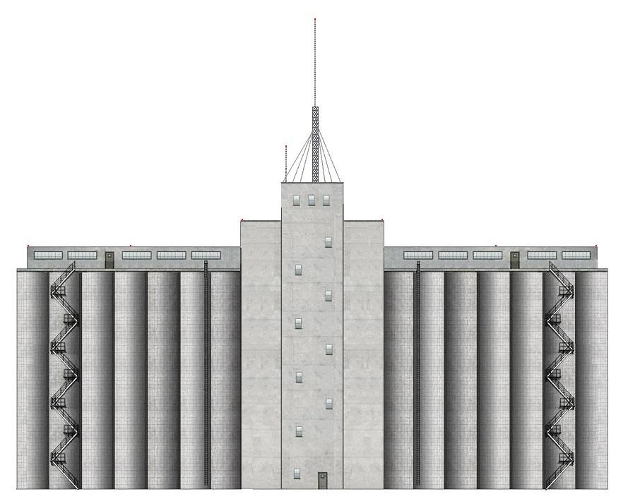 I'd like a grain elevator structure in 3D  | O Gauge