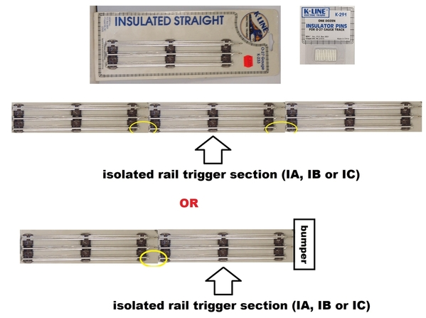 isolated rail trigger