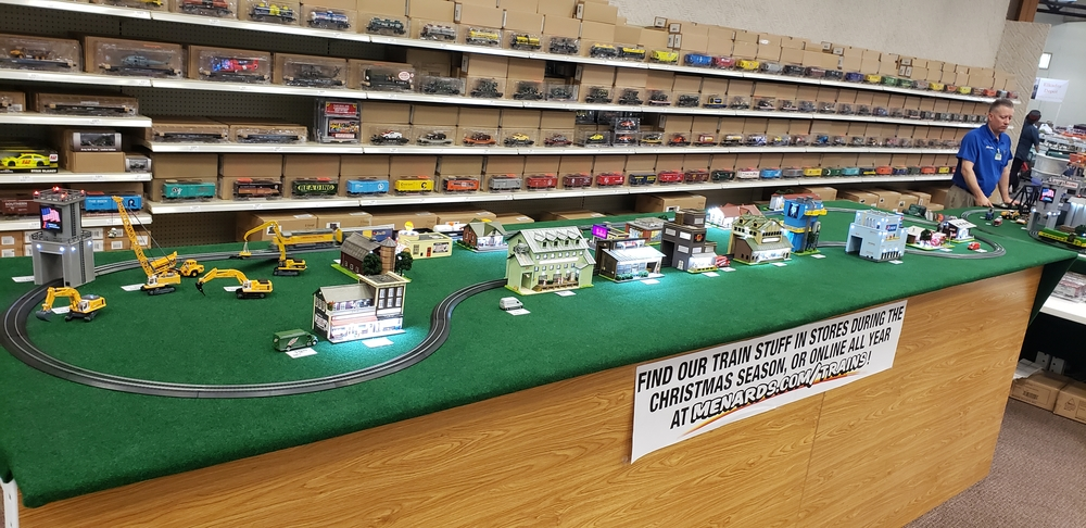 Menards train Expo | O Gauge Railroading On Line Forum