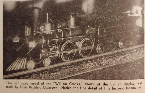 William Crooks MR Feb 1940 Louis Beuhler