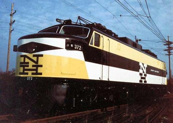 GE EP5 NH 372 Yellow