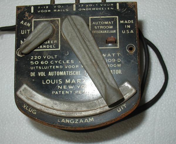220 volt transformer in german missing handle