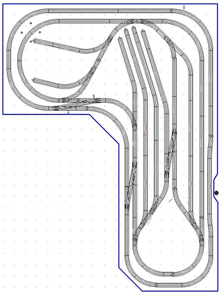 Double L Loop Track Only