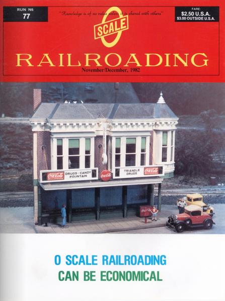 O Gauge Railroading volume 7, issue 5 Nov Dec 1982