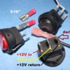 12v automotive illuminated switch