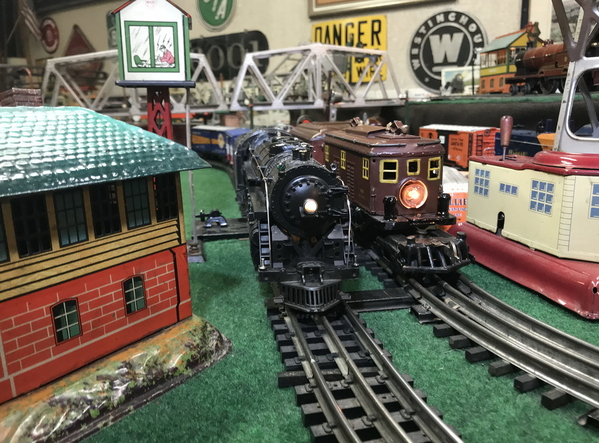 Lionel 773 and Flyer 3020 2
