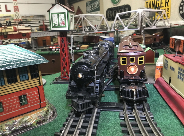 Lionel 773 and Flyer 3020