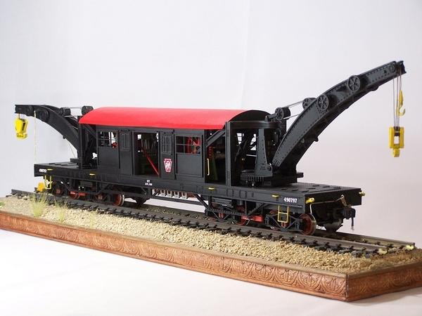 double crane car