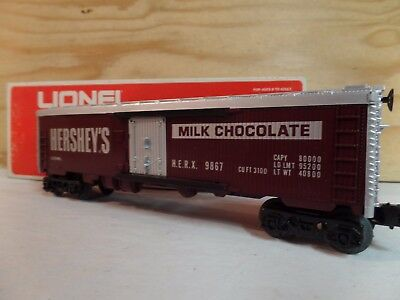 Lionel-Train-Hersheys-Chocolate-Railroad-Billboard-Reefer-Car