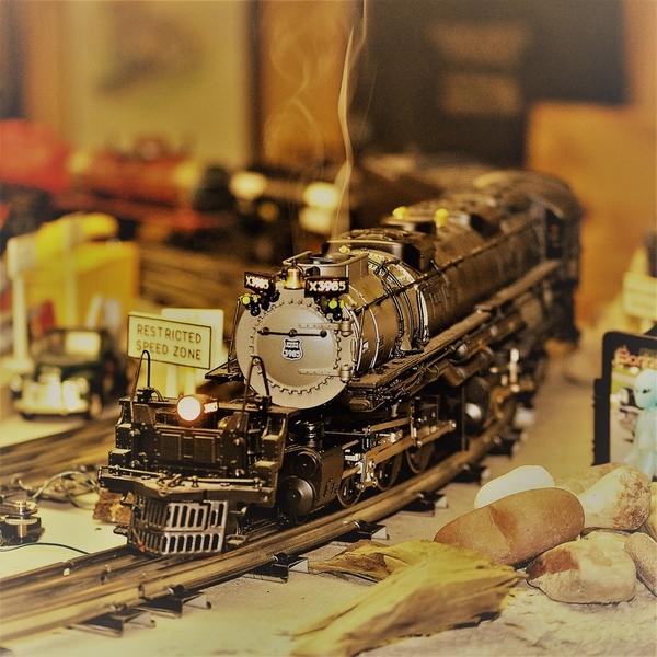 Layout steam locomotives, etc 052