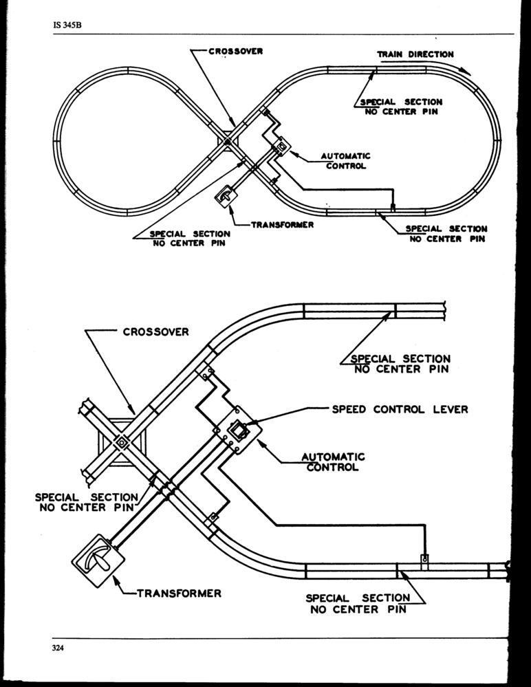 marx block control twin train sets