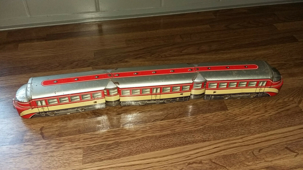 Distler Autorail 43 cm long