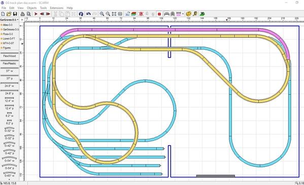 GG track plan daz
