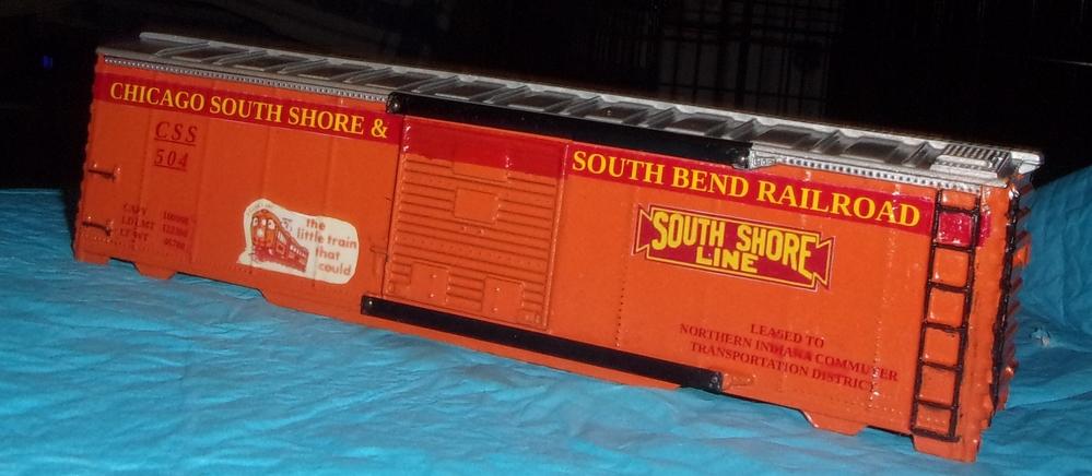 Repainted K-Line Boxcar 01